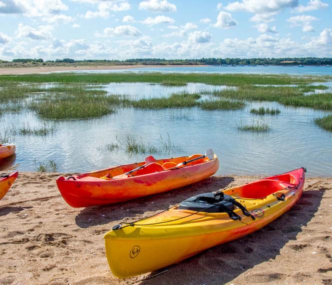 Kayak dans la baie de l'Orne