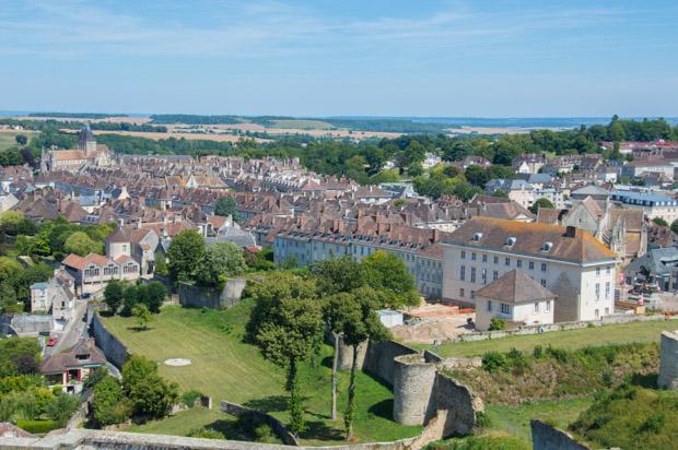 Vue sur la ville de Falaise