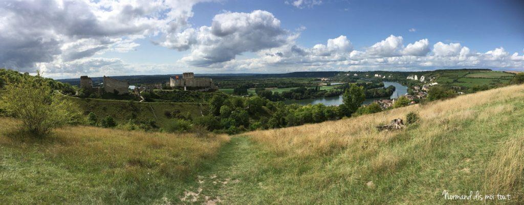 Le château Gaillard dans l'Eure