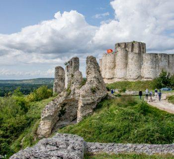 Les extérieurs du château Gaillard