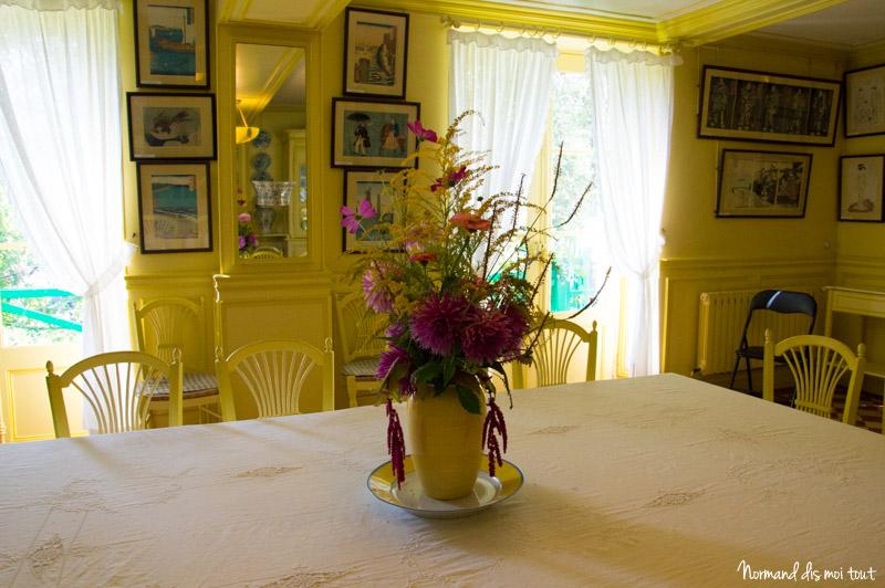 La salle à manger jaune de Monet