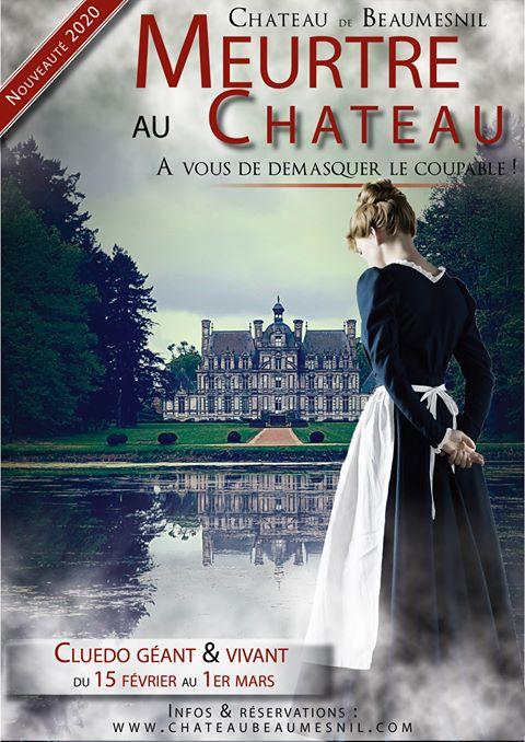 Cluedo au Château de Beaumesnil